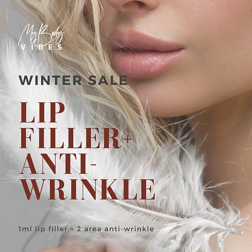 Lip Filler & Anti-Wrinkle