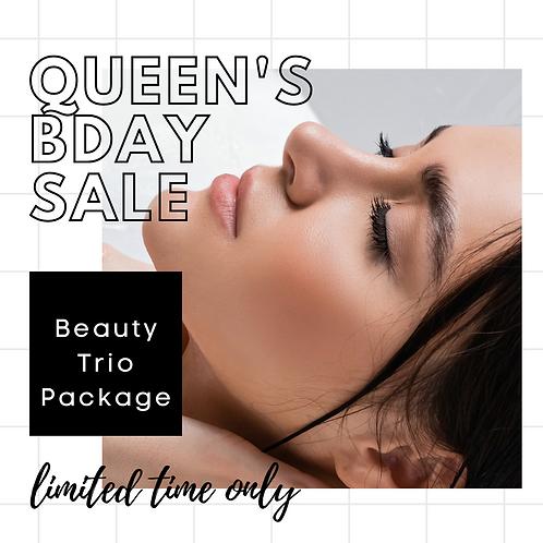 Beauty Trio Package-Lips, Cheeks & Anti-Wrinkle