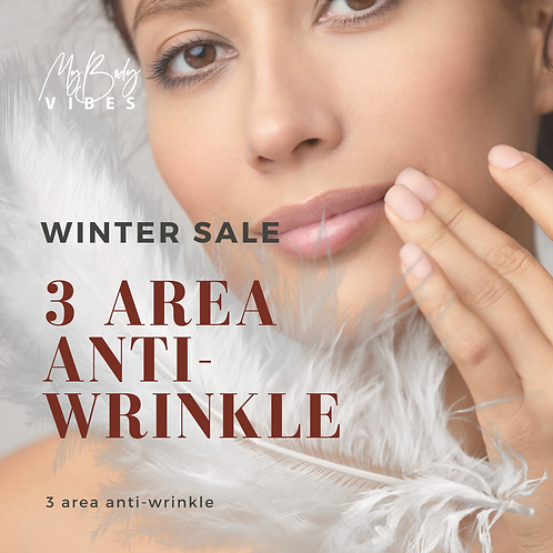 Anti-Wrinkle Treatment 3 Areas Special