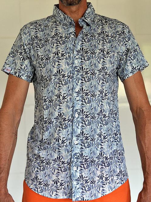 Camisa Folhagem Casual