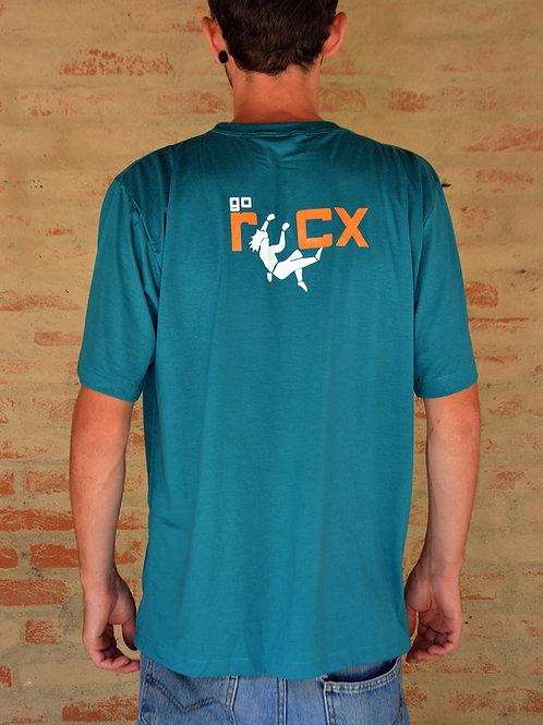 Camiseta Go Climb RocX - verde