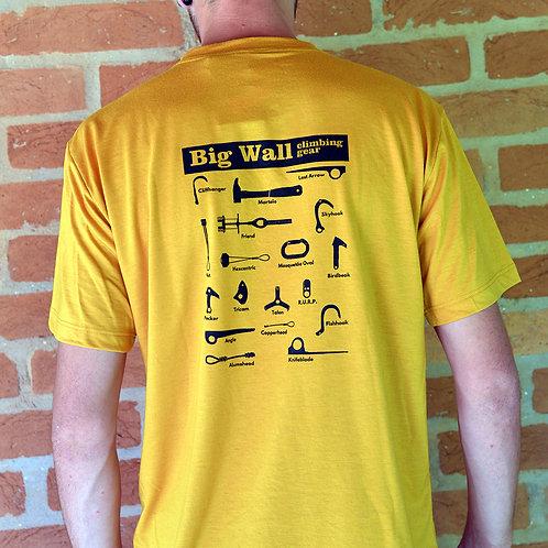 Camiseta Big Wall - Mostarda