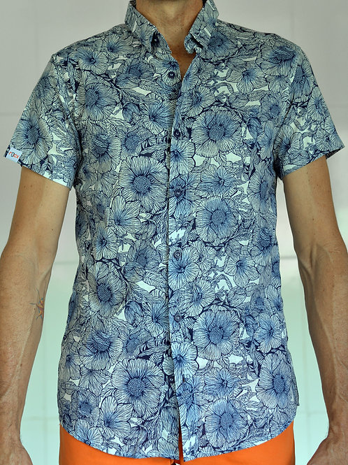 Camisa Floral Casual