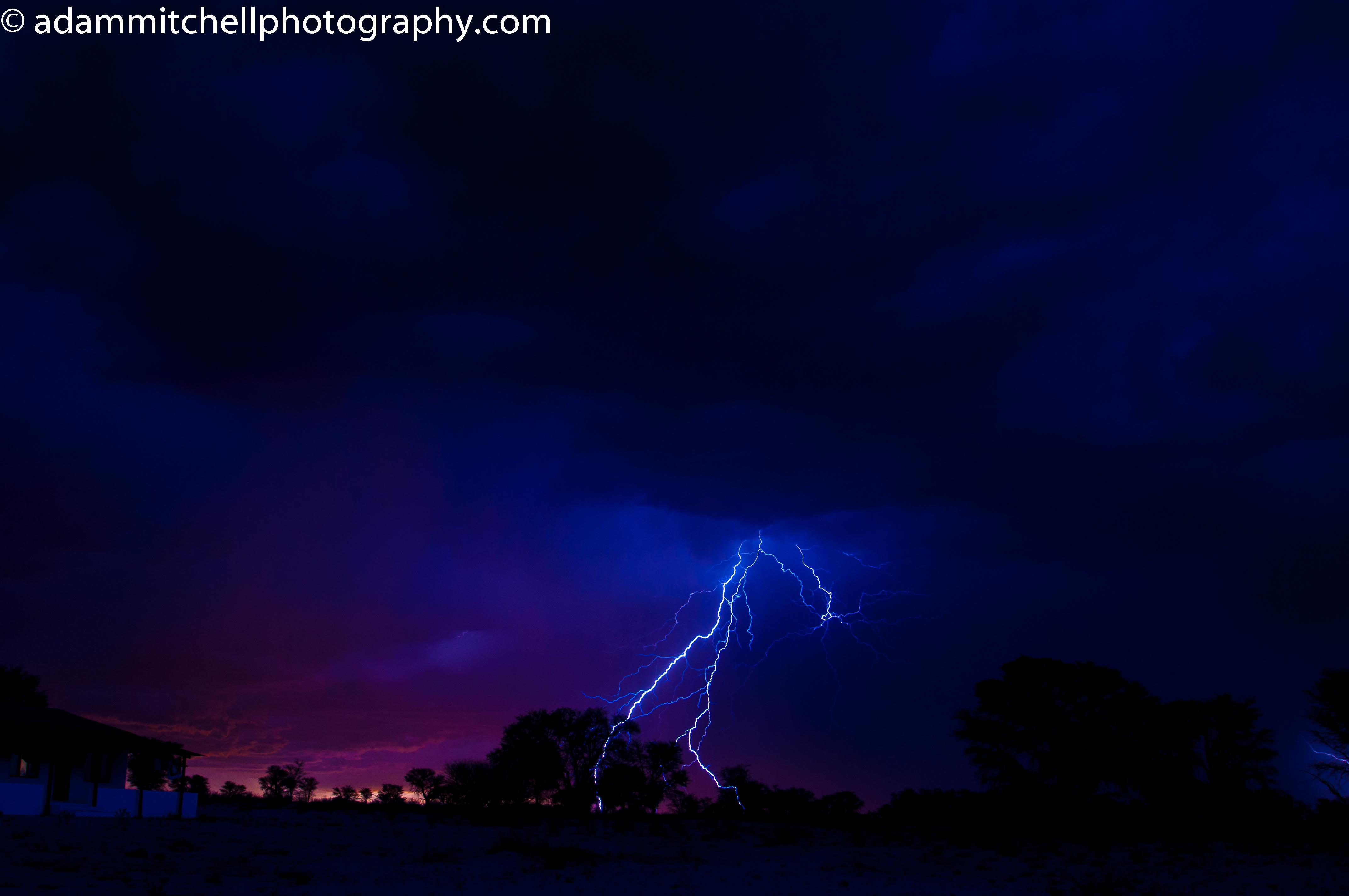 Kalahari storm