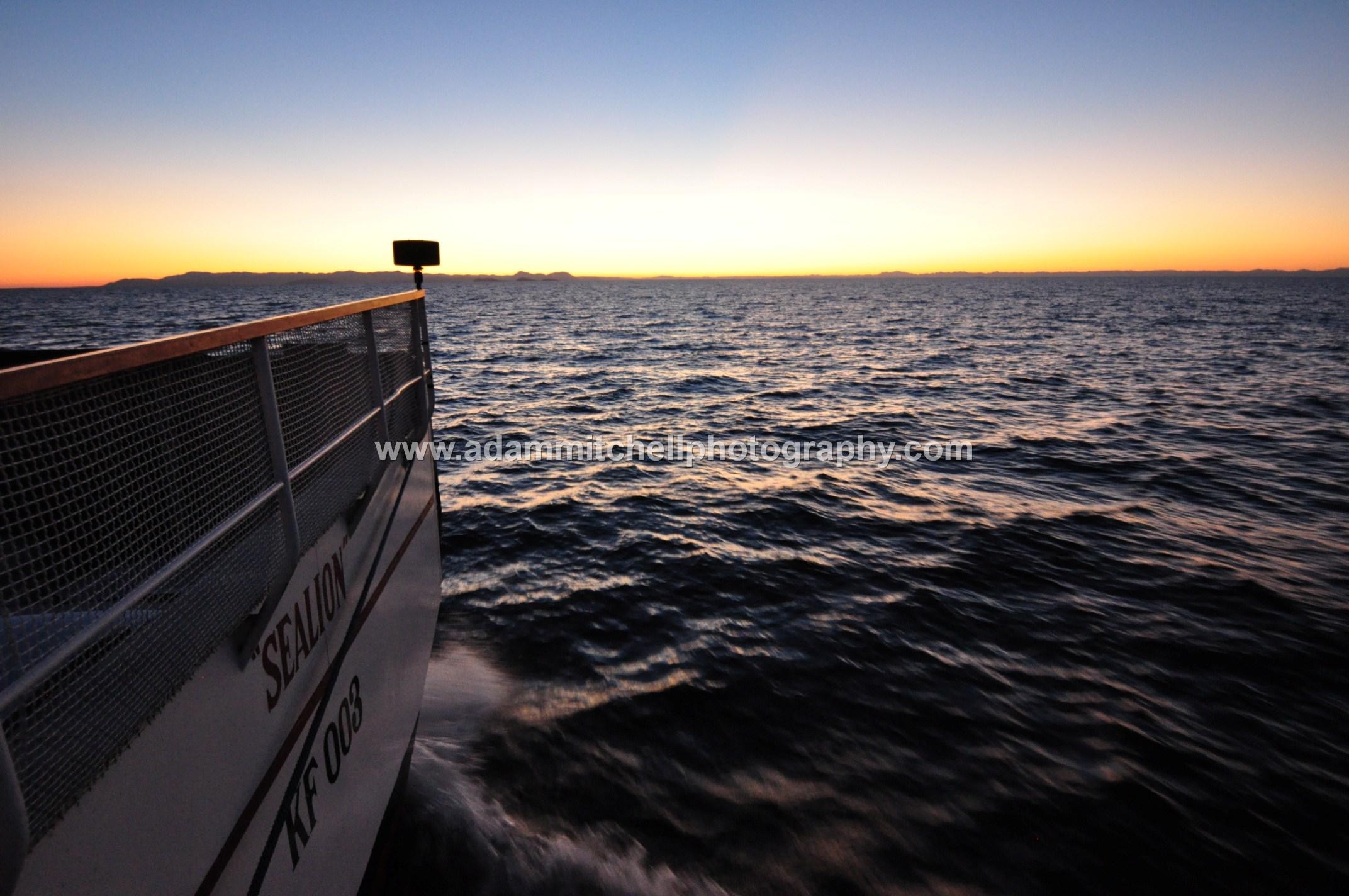 Dusk on Lake Kariba