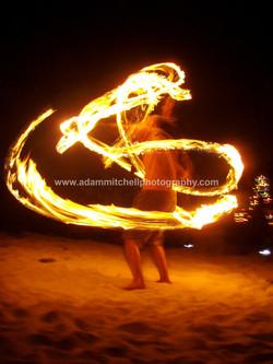 Fire poi, Little Cayman