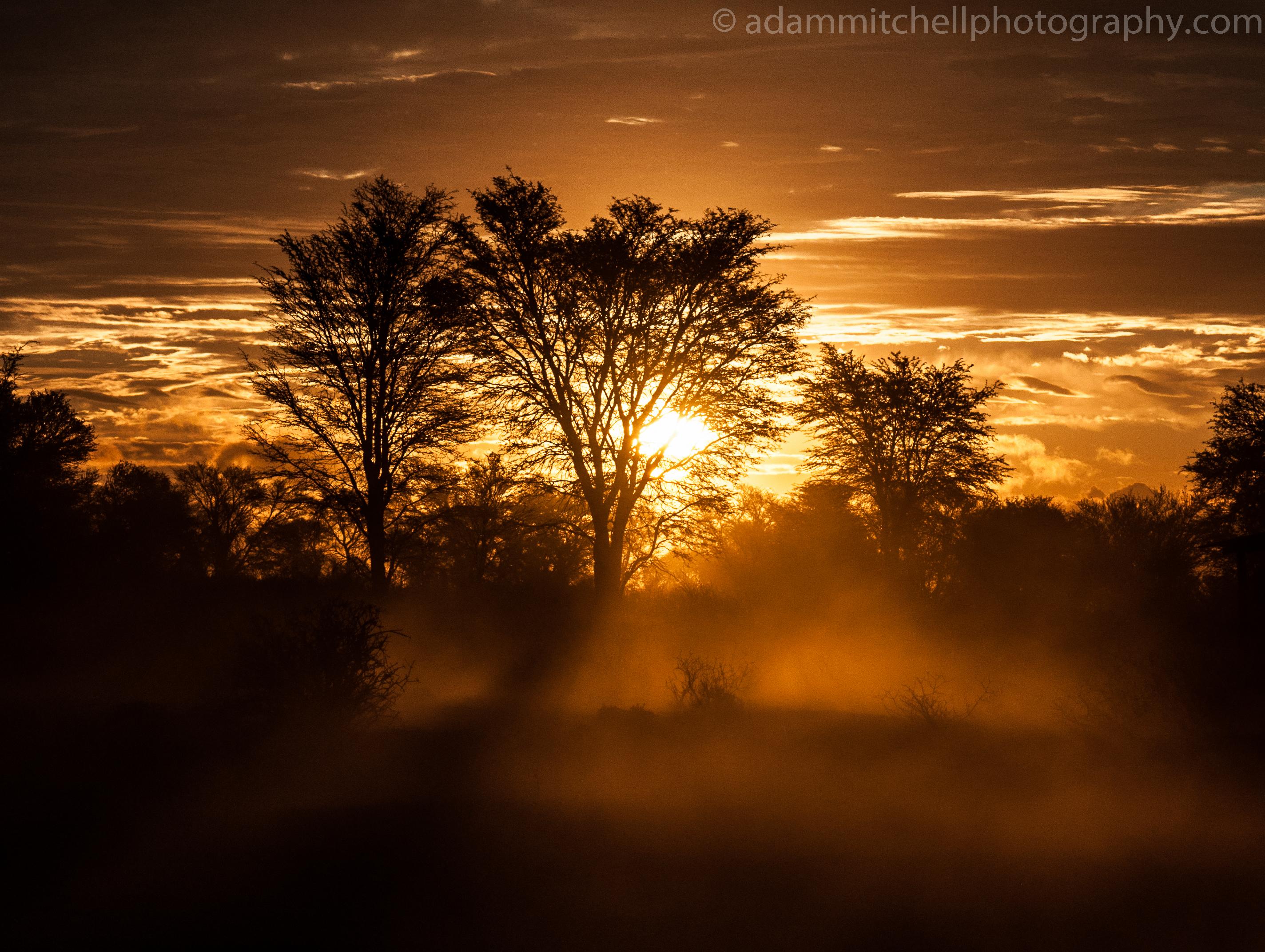 Kalahari sandstorm