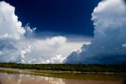 Approaching storm, Little Cayman