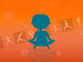 Brincando de Estátua com Yoga