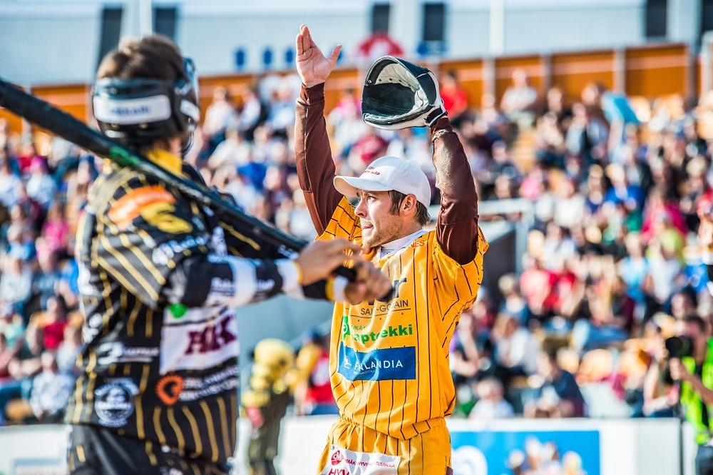 Juha Puhtimäki oli ottelun paras