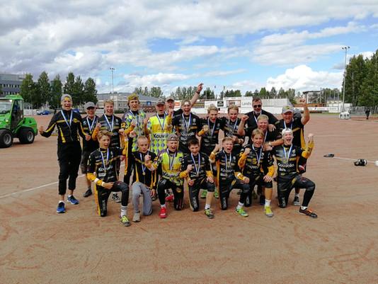 KPL:n C-pojat rynnistivät Suomen mestaruuteen