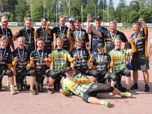 KPL:n C-pojat Suomen mestaruuteen