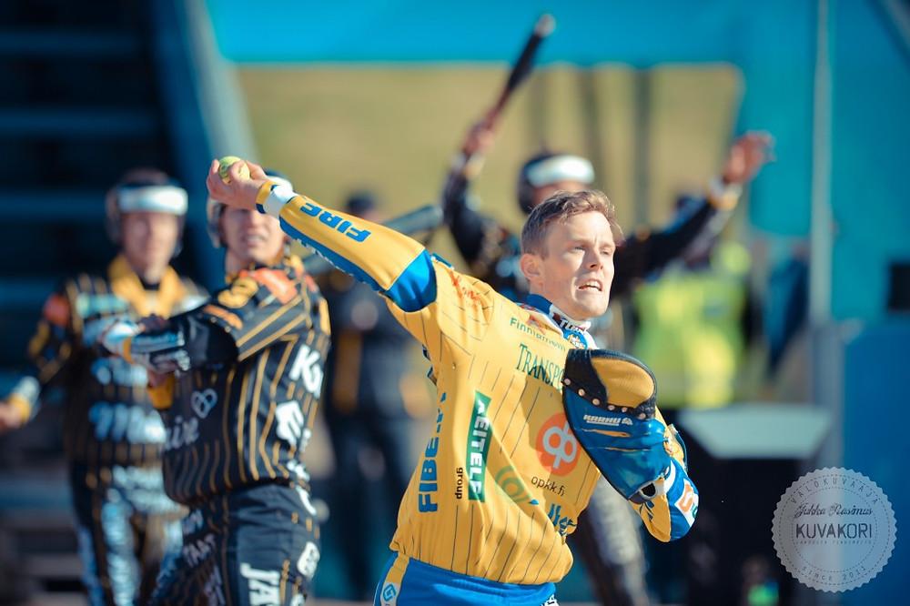 Janne Kivipelto on valmis täyspainoiseen treeniin