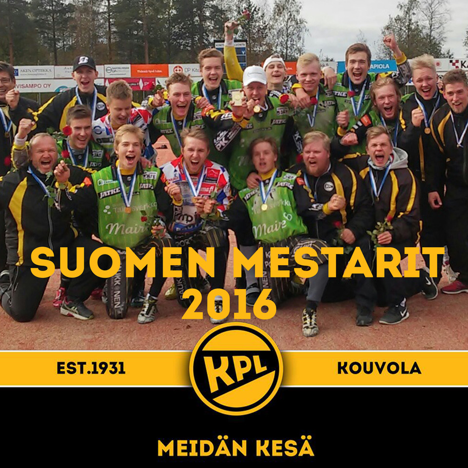 A-poikien Suomen mestarit 2016