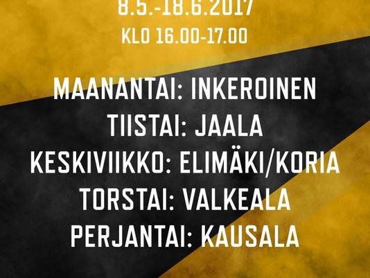 Kesällä taas Kyläpesistä!