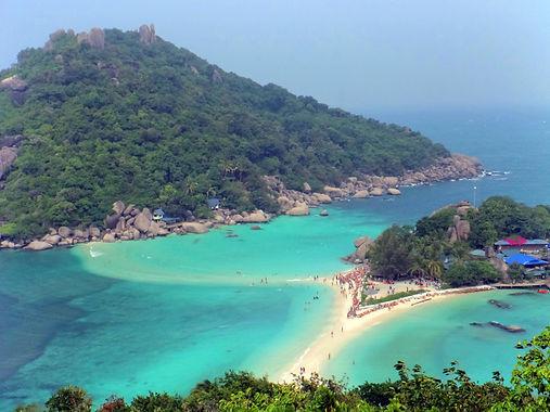 Ko Nang Yuan Ko Tao Tailândia