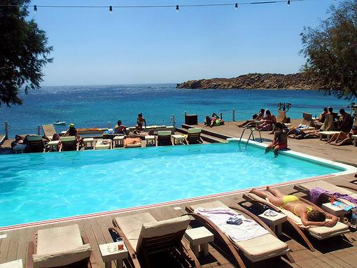 Paraga Beach Mykonos Grécia
