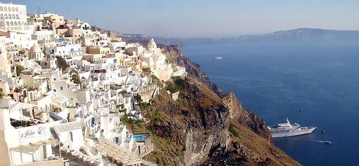 Santorini Fira Grécia