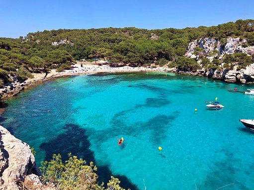 Cala Macarella Menorca Espanha