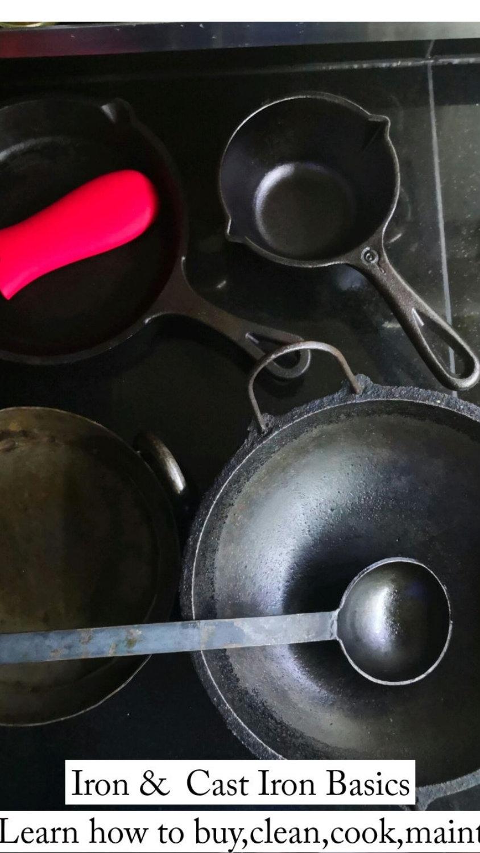 Cast Iron Basics - 14th oct