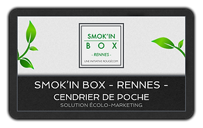 smokin box smokin cendrier de poche solution écolo marketing écologique distribution
