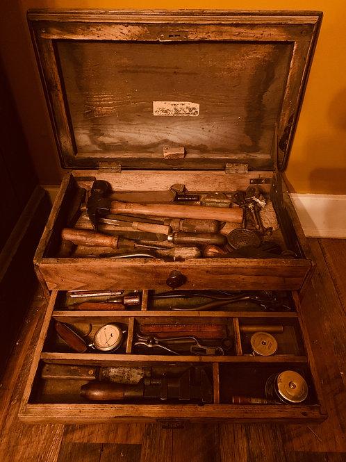 Antique Tool Box