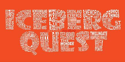 A word art logo for a world class tourism company.