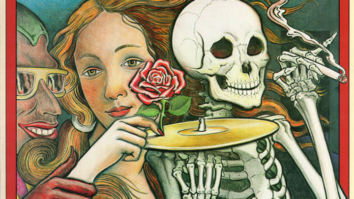 Grateful Dead The Best of Skeletons from the Closet