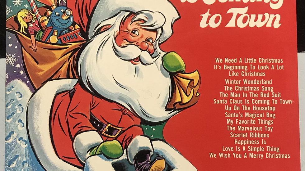 Santa Claus is Coming to Town (Used VG)