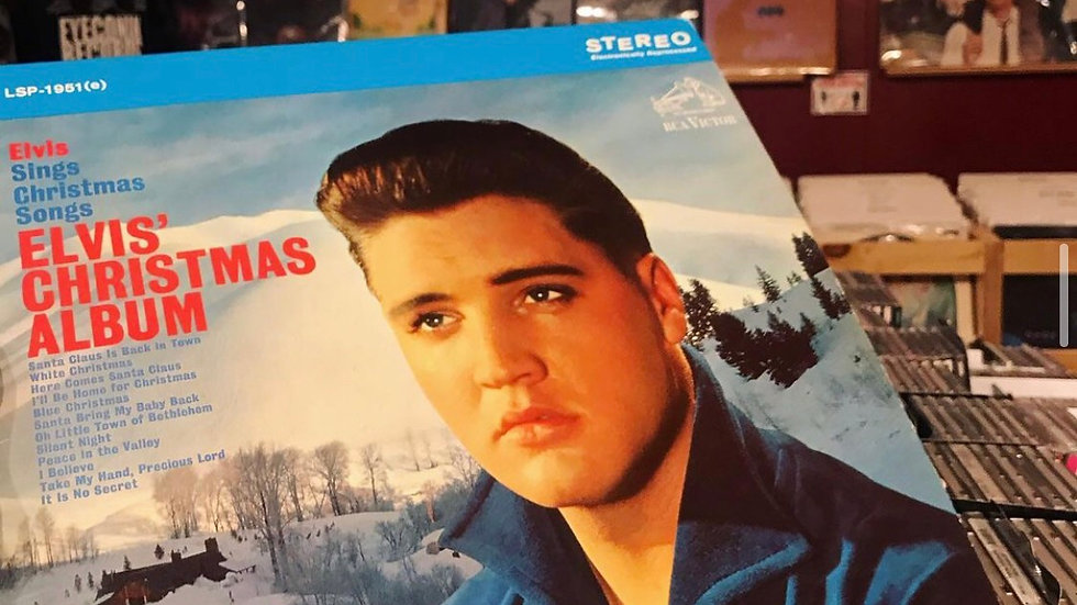 Elvis Sings Christmas Songs//Elvis Christmas Album (Used VG+)