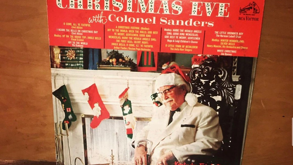 Christmas Eve with Colonel Sanders (Used VG)