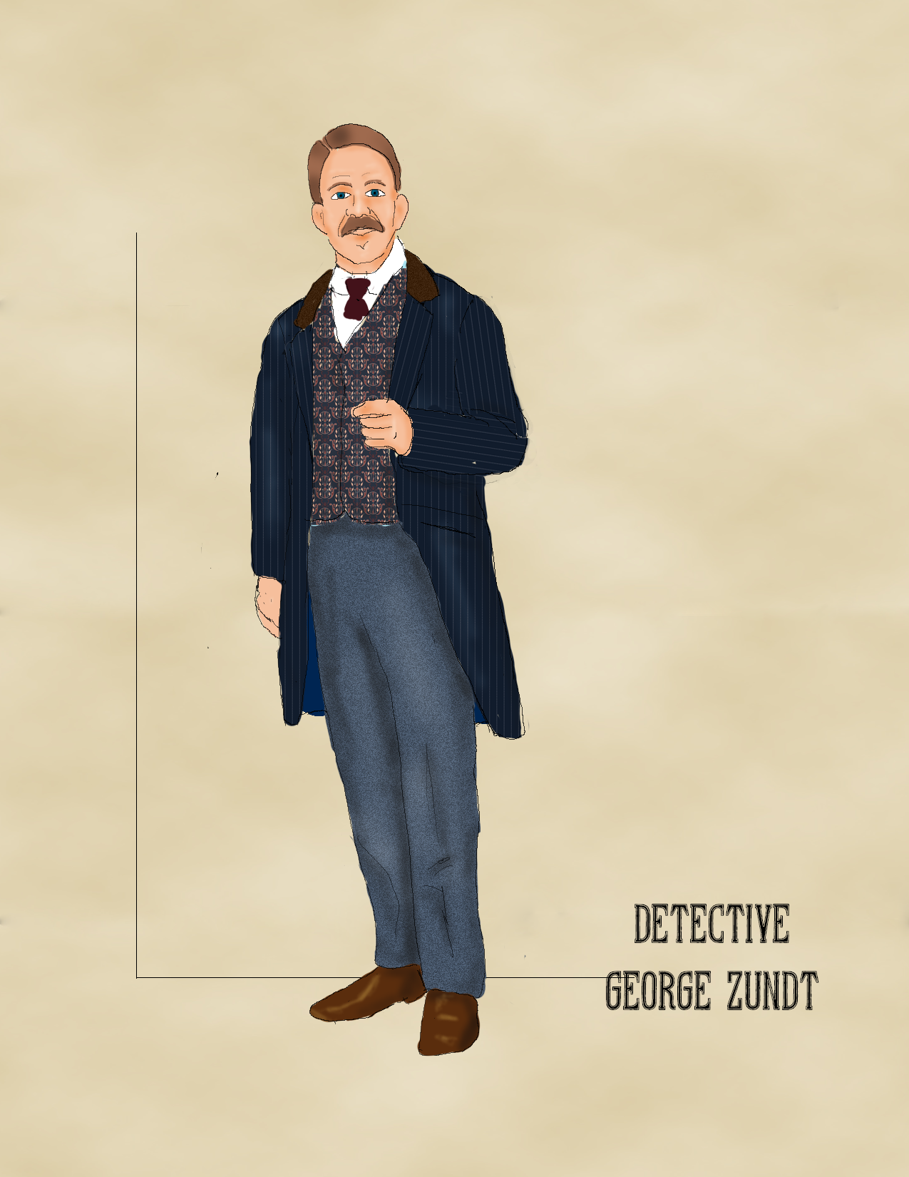 Detective George Zundt