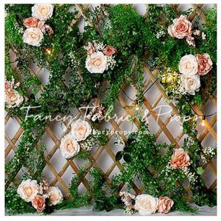 rose vine wall