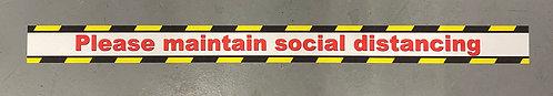 Covid-19 Non-Slip Social Distancing Tape