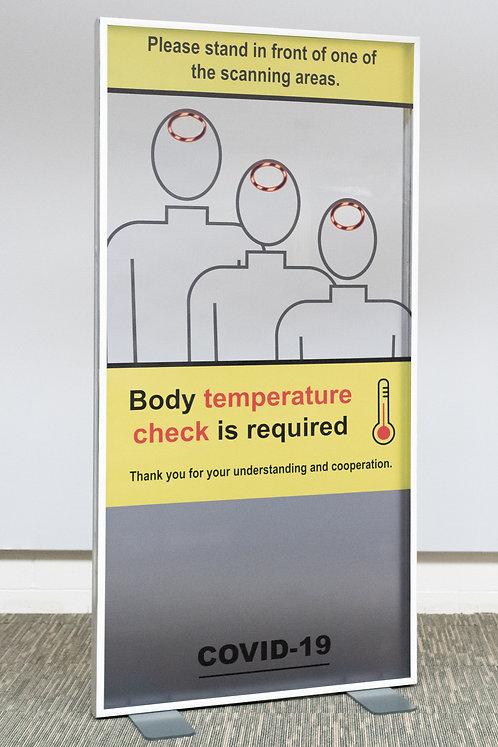 Covid-19 Temperature Check Screen