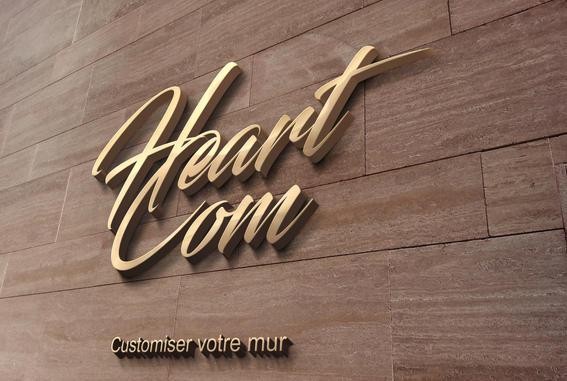 Logo en 3D sur votre mur