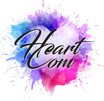 HeartCom association evenementielle graphique