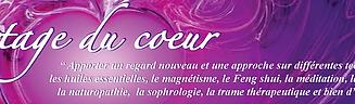 Partage du coeur bien-etre therapeutes conferences ateliers