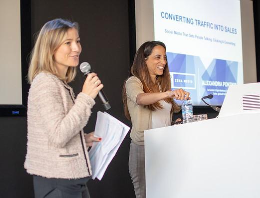 NZTE Digital Strategy Workshop @Google HQ in London: Converting Traffic Into Sales!