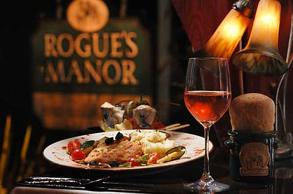 Rogue's Manor Dining Eureka Springs