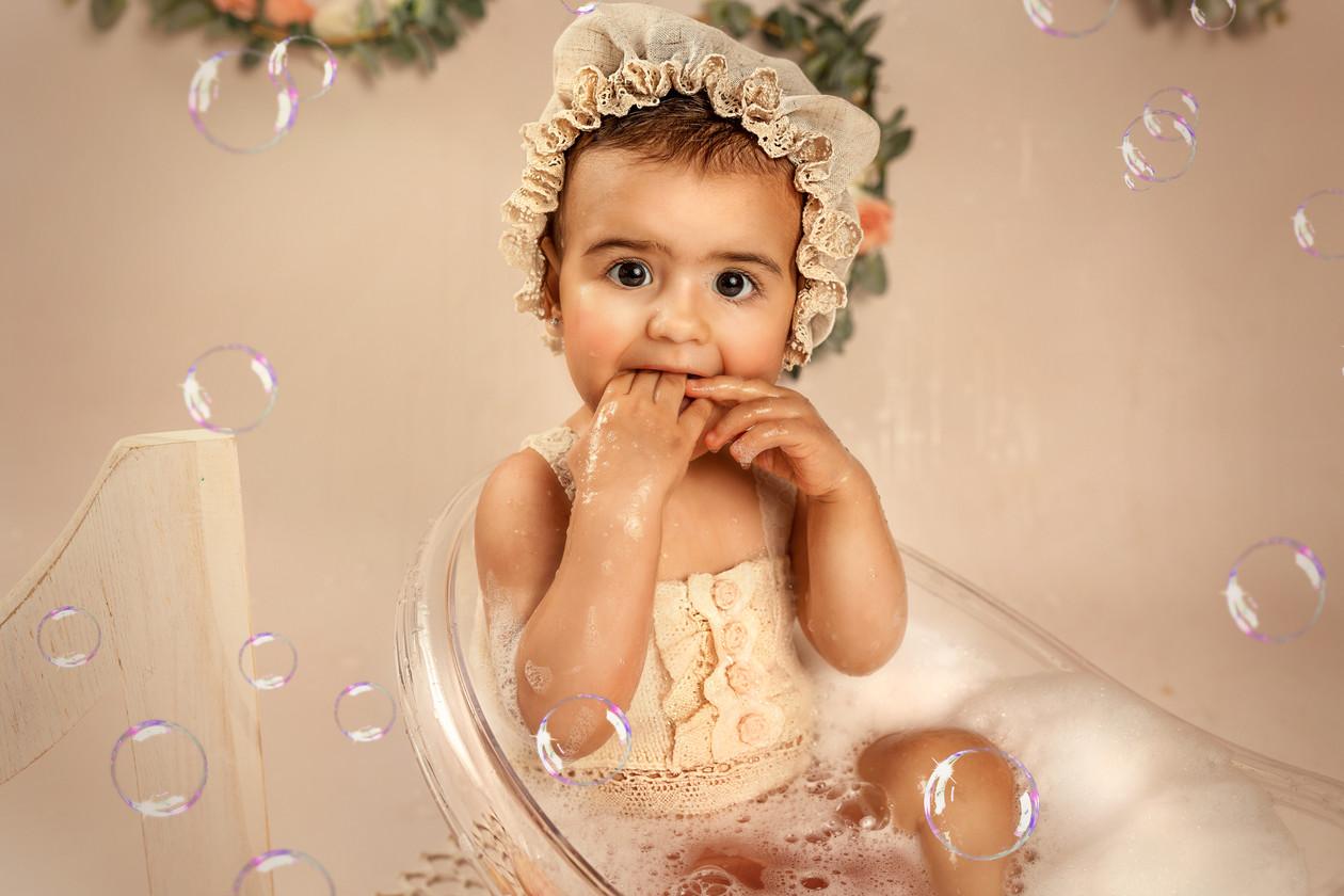 Baby bath! Lustiges 1 geburtstag , hand gestrickte exklusive baby bikins und viel Spass warten auf Sie!