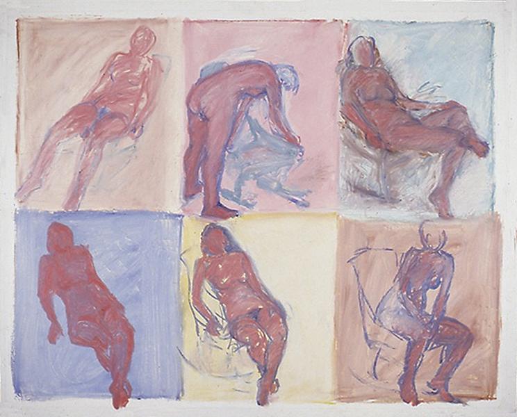 Six Nudes 1977