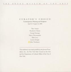 Curator's Choice 1985