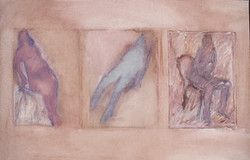 3 Seated Nudes 1977