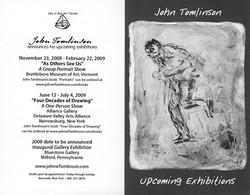Upcoming Exhibitions 2008-09