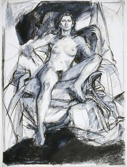 Nude in Drapery (Monica) 1980