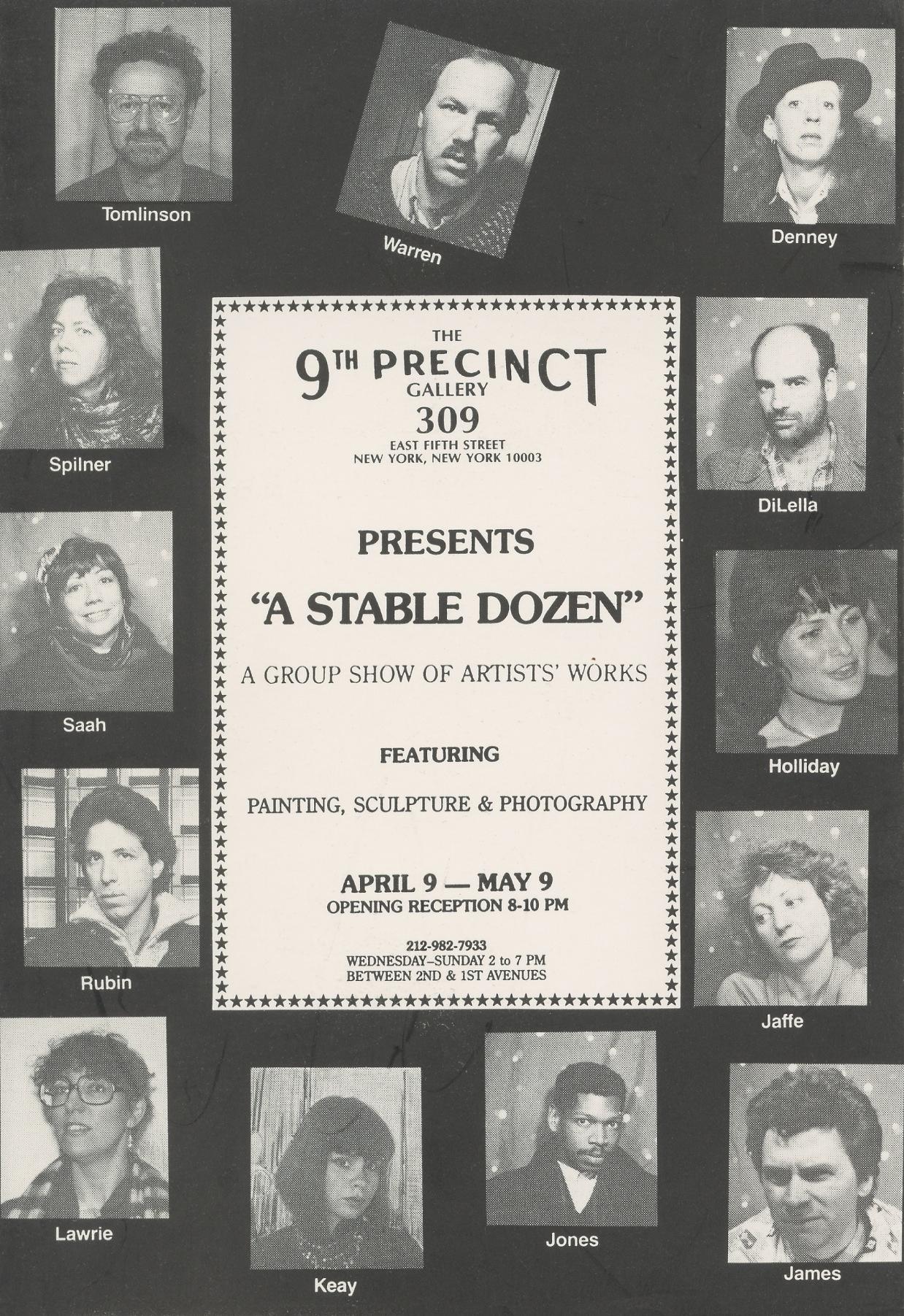 A Stable Dozen 1984?