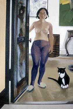 detail: Daria & Andy in the Doorway