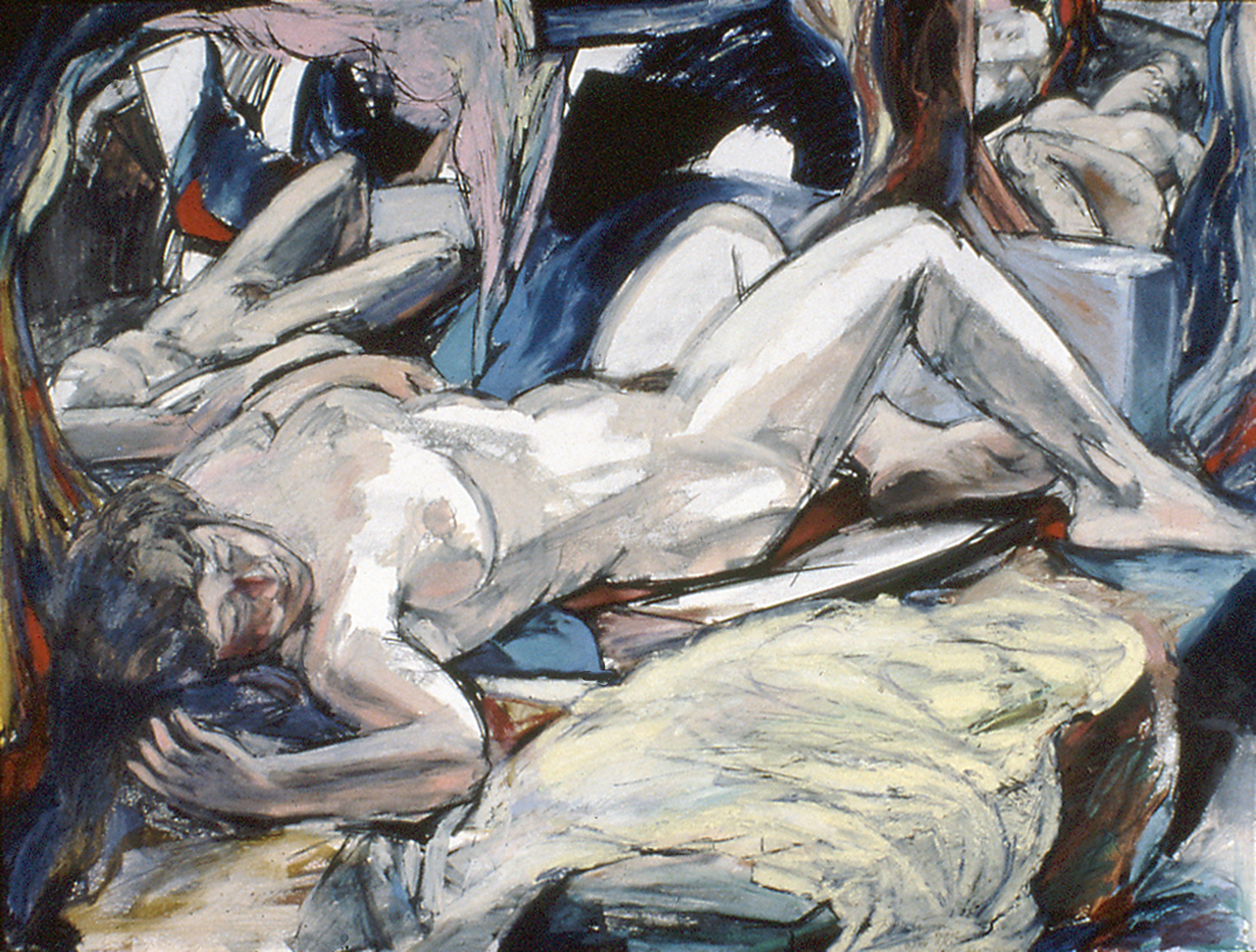 Reclining Nude w. Mirrors 1981