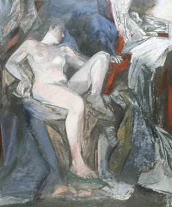 Nude w. Mirror 1980